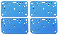 Holley Carburetor 108-90-4 Metering Plate Gasket 4160 NON STICK BLUE 4 PACK G63