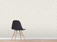 3D Geometrisch Abstract 3 Textur Fliese Marmor Tapete Abziehbild Tapete Wandbild