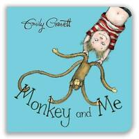Monkey and Me by Gravett, Emily, NEW Book, FREE & Fast Delivery, (Board book)