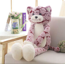 Pink Cat Stuffed Animal Lovely Cat Cartoon Plush Soft Doll Toy Gift For Kid 70cm