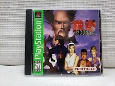 SONY PLAYSTATION 1 PS1 TEKKEN 2 TWO II NAMCO 1995 WITH MANUAL