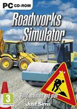 Roadworks Simulator (PC CD) PC 100% Brand New