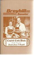 NL-005 - Capitol Cookbook, Broyhill Senator Vintage 34 page Recipes 1960's 70's