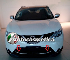 modanatura acciaio cromo paraurto anteriore per Nissan Qashqai 14-17