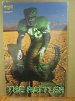 vintage NFL Ronnie Lott The Rattler Cocacola gridion Football 1993 poster 3177