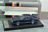 Premium X PRD590 Chevrolet Montecarlo 1981 Blue 1/43 Scale