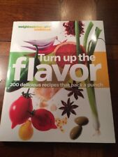 Weight Watchers 360 book TURN UP THE FLAVOR Points Plan food guide meals recipes