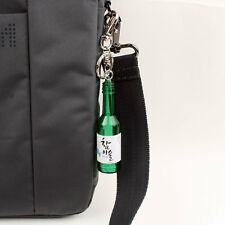 Korean Soju bottle Keychain keyring