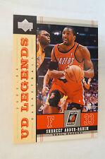 "NBA CARD - Upper Deck - ""UD Legends"" - Shareef Abdur-Rahim"