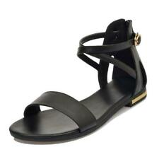 Fashion Womens Sandals Roman Gladiator Shoes Leather Sandals Summer Big size 12