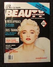 1990 BEAUTY HANDBOOK Magazine VF- Madonna Cover