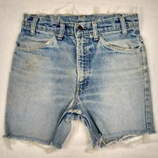 Vintage Levis Sf 207 Distressed No Tab/Patch Button Stamp Cutoff Hip W28 Stamp8