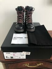 Chanel Brand New Quilted Black Combat Boots Size 35.5. NIB $1550. Sold Out.