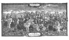 Antique map, Pugna Navalis in ipsis faucibus freti Oresund ... d. 29 Octob. 1658