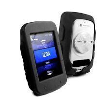 TUFF LUV Silikon Schutzhülle Case & Schirm-Schutz Für Garmin 520 - Schwarz