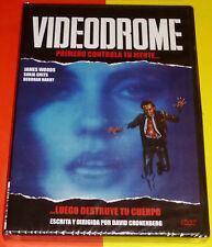 VIDEODROME David Cronenberg - English Español DVD R2 Precintada