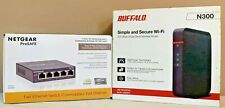Buffalo AirStation N300 High Power Wireless Router WHR-300HP2 Open Box-New Unit