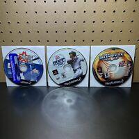 3 Game Lot-MLB SlugFest 2003,MVP BASEBALL 2005,Allst(PlayStation 2 PS2)DISC ONLY