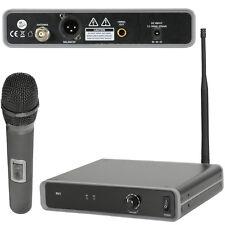 Sistema receptor de micrófono inalámbrico 60 M – Mano Uhf Dinámico Karaoke/Tannoy Kit