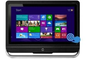"""HP Pavilion TouchSmart 23-h109 AIO PC 23"""" AMD A10 6700T 16GB 2TB Touch  FHD"""