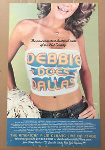 Debbie Does Dallas - Heavy-Weight Poster * Premier at June Street Theater - NYC