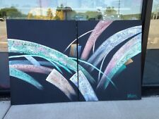 Oil Painting Lee Reynolds 2 Pc 24 X 30