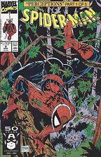 1991 Marvel Comics-Spiderman No. 8-Perceptions Part 1 of 5