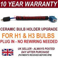 H1 HEADLIGHT CERAMIC BULB HOLDER 100W+ FOR PEUGEOT 306 307 407 605 806 -BH101A