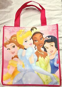 Large Pink Disney Princess Shopping/Gift Bag