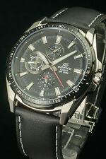 Casio Edifice EF-336L-1 Analog Gents Dress Men's Black Watch Original & Gift