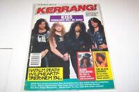 #392 KERRANG! music magazine KISS - NAPALM DEATH