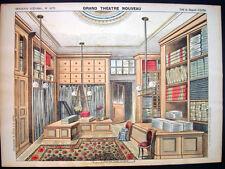 Pellerin Imagerie D'Epinal-Grand Theatre Nouveau No 1670 Fabric Store Inv1780