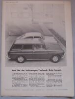 1966 VW Variant Original advert