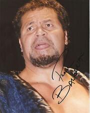 Ed051 The Barbarian signed wrestling Photo w/Coa *Please Read* Bonus*