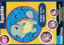 PROMO POKEMON BURGER KING CUT N°    7 SQUIRTLE CARAPUCE