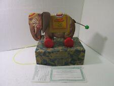 Fisher Price Édition Limitée #6145 Sonnante Éléphant 1 Of 5000 Toyfest 1993