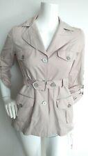 Designer ADOLFO DOMINGUEZ lightweight jacket mack size 36 UK8 -MINT- 6pockets