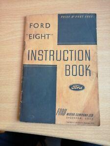 The Ford 8 Motor Car  Manual