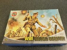 Airfix A01727 WWI British Infantry 1:72 Series 1 Plastic Figures - complete