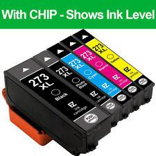 5PKs Black&Color Remanufactured 273 XL Ink Cartridges for Epson XP-610 XP-810