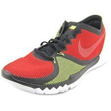 Nike Trainer 3.0 V4 Red Black Volt Mens Cross Training Shoes 749361-066 UK 10