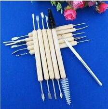 11pcs Clay Sculpting Carving Pottery Tools Ceramic Polymer Modeling cutter Kit