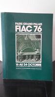Fiac 76 - París Grand Palacio - 16A 24 Octubre