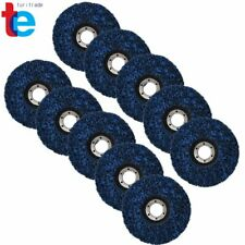 10 Pack 45x78 Strip Disc Wheel Paint Rust Removal Clean For Angle Grinder