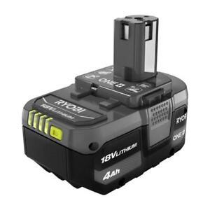 GENUINE RYOBI Battery PBP005 P197 LITHIUM-Ion 18V ONE+ 4.0Ah Battery OEM NEW