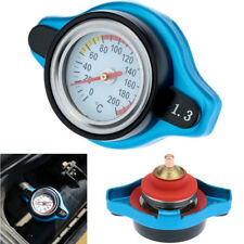 Universal Car Small Head 1.3 Bar Thermostatic Radiator Cap + Temperature Gauge