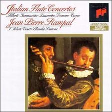 Rampal, Jean-Pierre : Italian Baroque Flute Concertos CD