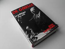 De Gaulle , Le politique 1944 - 1959 , Jean Lacouture , 1986  livre