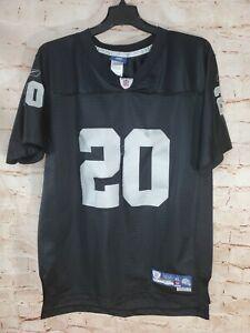 Reebok On Field NFL Oakland Raiders Darren McFadden #20 Jersey Youth XL 18-20