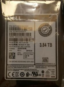 "DELL SSD 3.84TB  6Gbps 2.5"" PM863A series MZ-7LM3T8B  Enterprise Grade"